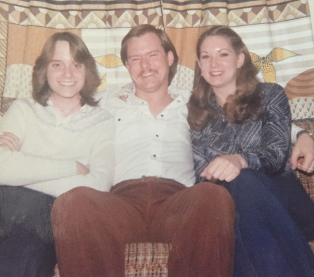Dad and sisters